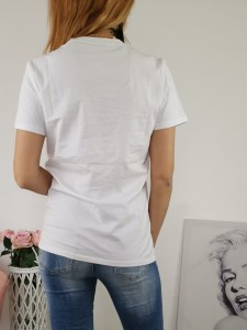 T-shirt Bag White